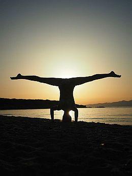 Erlebe Hatha Yogaunterricht